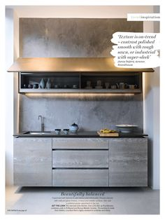 Driftwood kitchen by Roundhouse (via Living Etc)