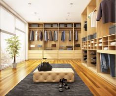 Walk in Closet (From PA Fitted Furniture) Walk In Wardrobe, Walk In Closet, Inspiration Dressing, Bedroom Furniture, Furniture Design, Fitted Wardrobes, Dressing Room, Home Office, Interior Design