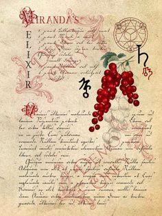 BOS ~ Miranda's Elixir page