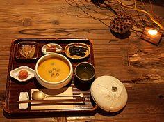 素夢子 古茶家 そむしこちゃや somushi tea house, Kyoto 韓国精進料理