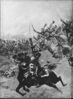Charge de la Garde à cheval des Consuls à Marengo (detail of Bessières)