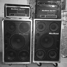 Mesa/Boogie bass rigs