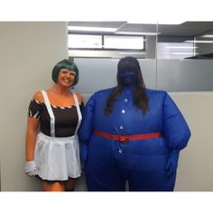 Violet Beauregarde Oompa Loompa Oompa Loompa Costume, Halloween Themes, Halloween Costumes, Blueberry Girl, Inflatable Costumes, Willy Wonka, Chocolate Factory, Blueberries, Hot
