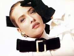 Tatjana Patitz for Gianfranco Ferré A/W 1987 by Herb Ritts