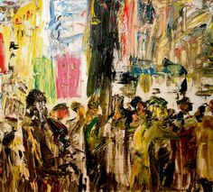 """""""A Lament"""" (1930), oil, by Jack B Yeats, depicting the funeral of Irish republican Harry Boland"""
