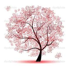 Don't think it would work for a tattoo unless it was massive, but it's neat. Butterfly tree~