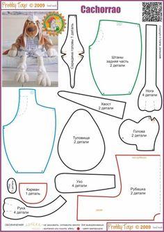 После изготовления лап, обязательно сделайте затяжки-пальчики. Глаза можно сделать из пуговиц или бусин подходящего размера, нос - из кожи или кож заменителя, его нужно слегка присобрать и пришить на свое место. Вниз от носа сделайте обозначения рта с помощью крепкой нитки.
