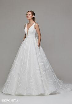 Dorofeya Bridal Suite, Compliments, Tulle, Neckline, Satin, Gowns, Princess, Wedding Dresses, Skirts