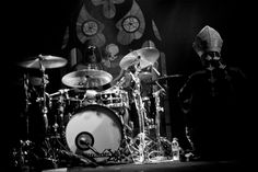 Such a wide-eyed Drummer Ghoul! Ghost and Witchgrinder @ The Hi-Fi, Melbourne 22/01/2014 | Metal Obsession
