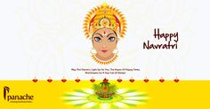 Navratri means 9 nights of devotion. Spirituality. Celebrations. Music. Dance. Garba. Stuti. Hope the divine blessings of Maa always be with you. ‪#‎Happy‬ ‪#‎Navratri‬ ~ www.panachegreen.com