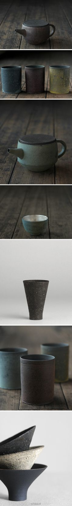 "I love the simplicity of these pieces, yet the richness... ultimately, ""less is more""."