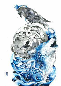 La Magie positive des Aquarelles de Luqman Reza (10)