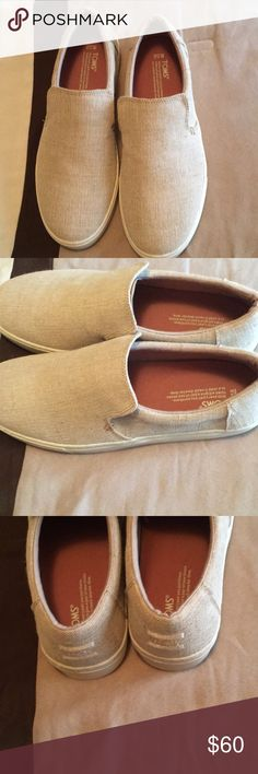 Toms men Lomas canvas slip on sneakers Toms men shoes. Purchased at von maur.  Slip on Toms Shoes Loafers   Slip-Ons 44418b720