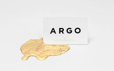 Argo by anagrama #business #card #art