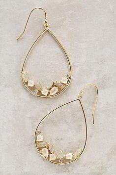 Boucles d'oreilles goutte d'eau Samuni - anthropologie.com