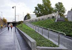 Baana Pedestrian and Cycling Corridor / HelsinkiCity Planning Department