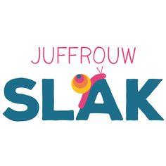 Logo voor kinderwinkel Juffrouw Slak