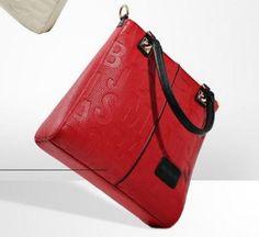 Moderní dámská kabelka červená – dámské kabelky Na tento produkt se  vztahuje nejen zajímavá sleva d6b053d0601