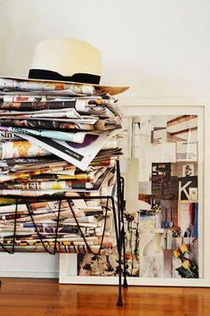 Things piled un-neatly - Image Elina Dahl
