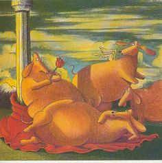 BookHounds: DOG DAYS OF SUMMER: Weiner Dog Art by Gary Larson