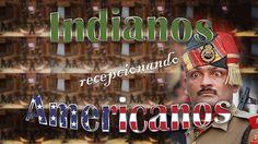 Coreografias militares - Indianos recepcionando americanos hilário!