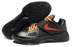 00ea87cd17bf Nike Zoom KD IV X Black Team Orange 477677 002 Kevin Durant Shoes 2013