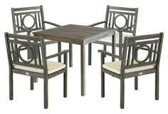 Outdoor Marion Dining Set, Gray