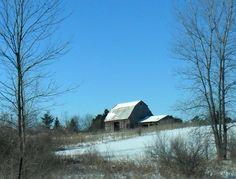 Local old barn