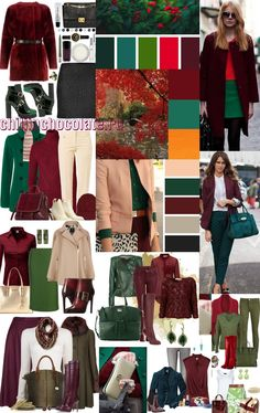 outfit plus size Colour Combinations Fashion, Color Combinations For Clothes, Fashion Colours, Colorful Fashion, Color Combos, Deep Autumn, Deep Winter, Warm Autumn, Mode Outfits