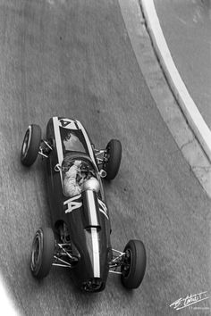 McLaren 1962 Monaco - Cooper T60 - Classic Motors, Classic Cars, Bruce Mclaren, Gilles Villeneuve, Monaco Grand Prix, Formula 1 Car, Old Race Cars, Mc Laren, Car Posters