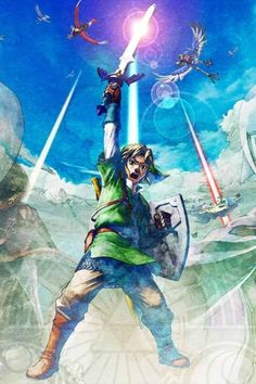 The legend of zelda: skyward sword nintendo switch release teased Skyward Sword Link, Zelda Skyward, Link Zelda, The Legend Of Zelda, Nintendo Switch, Wii, See Games, Old Video, Photoshop Cs5