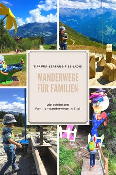 Excursion tip for Serfaus Fiss Ladis in Tyrol: the most beautiful hiking trails for Fa . - Scarlett Home Austria Travel, Germany Travel, Camping And Hiking, Hiking Trails, Visit Germany, Camping Holiday, Road Trip Hacks, Romantic Travel, Travel Usa