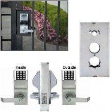 Double Sided Keyless Gate Lock Dl5200 X K Bxsim Gate Locks Iron
