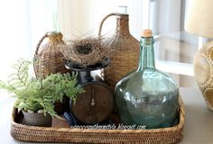 Savvy Southern Style: Vintage Scale and Found Nest