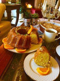 Κέικ νηστίσιμο με ολόκληρα πορτοκάλια!!! French Toast, Breakfast, Food, Morning Coffee, Essen, Meals, Yemek, Eten