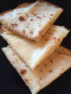 Crêpes légères weight watchers