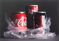 Pedro Campos - Coke Trilogy II - oil on canvas