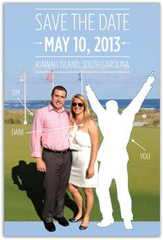 Save-the-Date | destination wedding by Laura Evancich www.laurariderdesigns.com