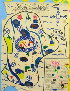 My students have created map features ranging from traditional treasure chests to alien spacecraft landing pads Teaching Map Skills, Teaching Maps, Teaching Geography, Student Teaching, Social Studies Resources, Teaching Social Studies, Map Projects, School Projects, Classroom Solutions