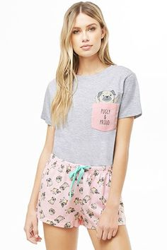 Forever 21 is the authority on fashion & the go-to retailer for the latest trends, styles & the hottest deals. Shop dresses, tops, tees, leggings & more! Cute Pajama Sets, Cute Pjs, Cute Pajamas, Cute Sleepwear, Girls Sleepwear, Girls Pajamas, Pajamas Women, Forever 21 Pajamas, Little Girl Models