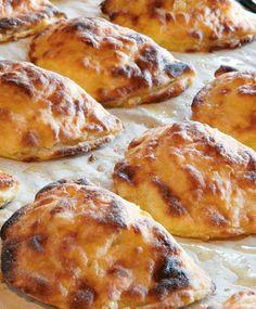 Vatruskat   Maku No Salt Recipes, Wine Recipes, Baking Recipes, Dessert Recipes, Bread Recipes, Savory Pastry, Savoury Baking, Bread Baking, Finnish Recipes
