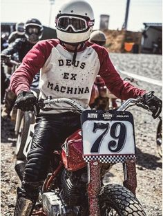 Flat track Honda Vintage racing Spirit Race dirt track