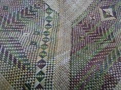 Alixene Curtis - whaariki (woven mat) Polynesian Designs, Maori Designs, Flax Weaving, Basket Weaving, Maori Art, Kiwiana, Weaving Patterns, Textures Patterns, Quilts