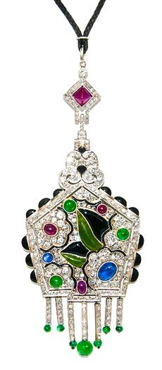 Stunning Art Deco Gem Set