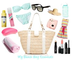 Our dream beach bag essentials. |   Fashion | Pinterest | Beach ...