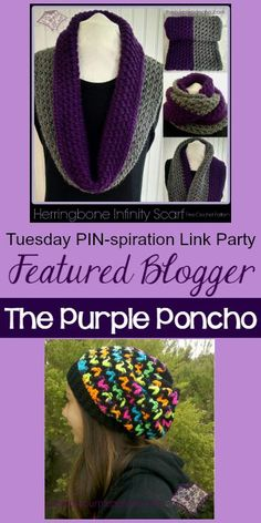 Tuesday PIN-spiration Featured Blogger - The Purple Poncho   www.thestitchinmommy.com