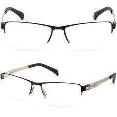 9ba0bc09470 Mens Women Titanium Frame Metal Prescription RX Glasses Anti Glare UV  Protection  Unbranded Eyeglasses