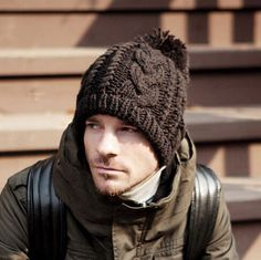 Hairball knit hats for men winter beanie hats 1069c3d8317