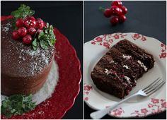 Giveaway de Natal [e um bolo de chocolate festivo].