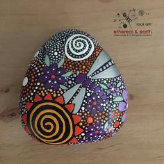 Painted Rocks Hand Painted Stones Rock Art by etherealandearth